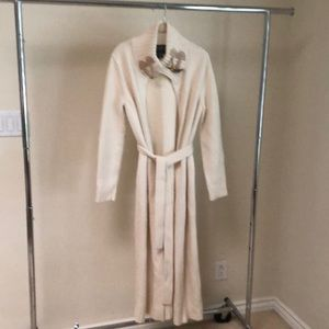 Lauren Ralph Lauren Ivory angora wool cardigan